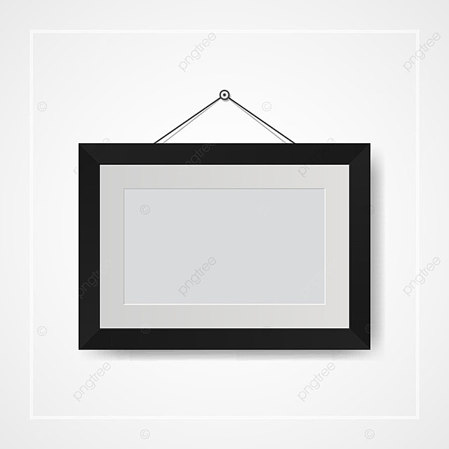Picture And Photo Frames On White Wall