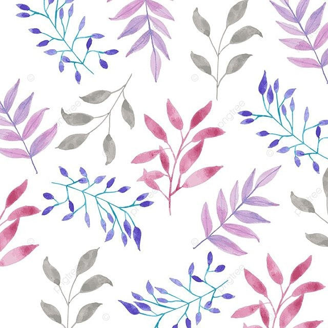 watercolor floral pattern design background pattern