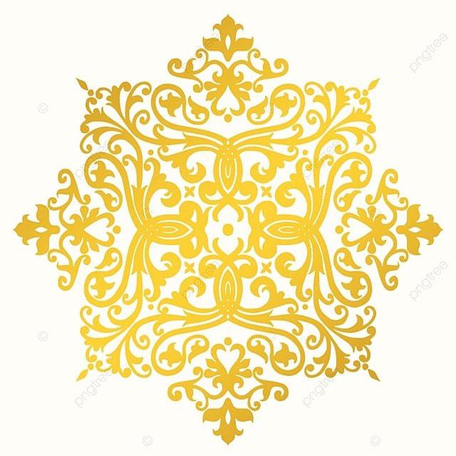 Golden Ornament Decoration Ornaments Floral PNG And Vector