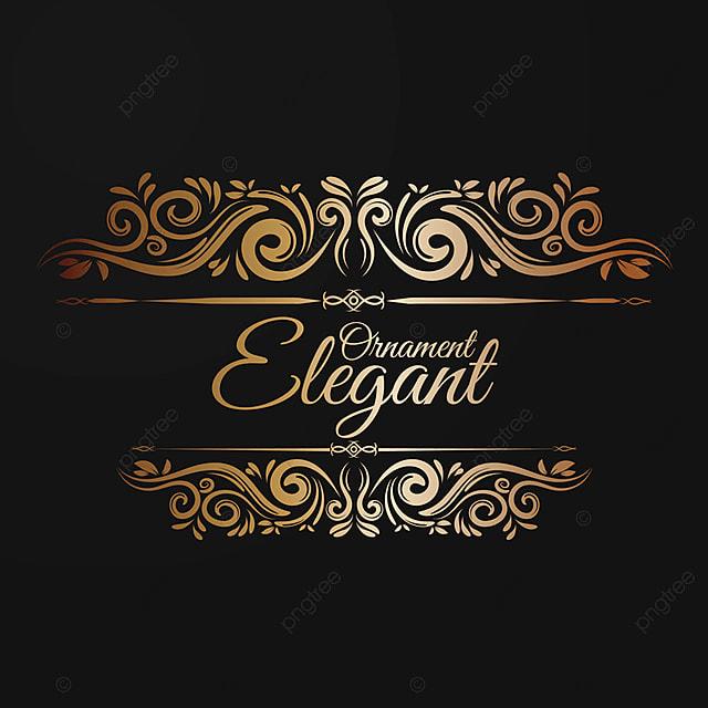 Elegante Adorno, Marco, Vintage, Marcos PNG y Vector para Descargar ...