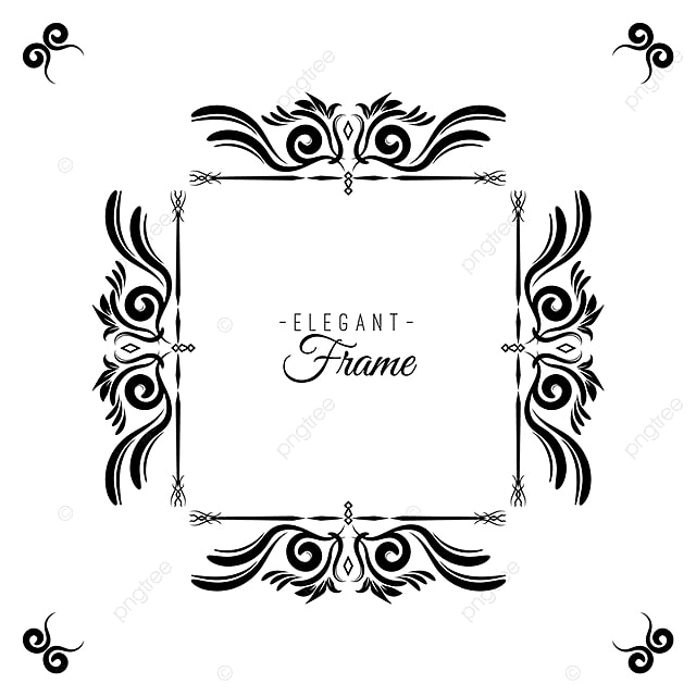 Simple Vintage Frame, Frame, Vintage, Frames PNG and Vector for Free ...