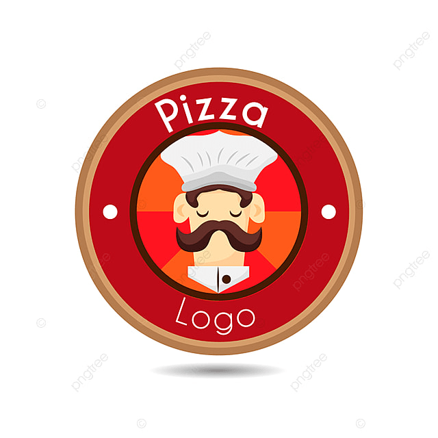 chef logo personnage chef cercle png et vecteur pour