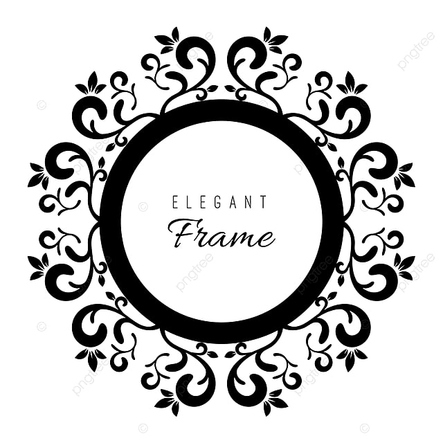 Black And White Ornament Frame, Frame, Vintage, Frames PNG and ...
