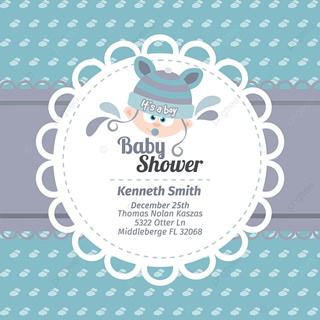 Cute baby shower card na cor azul background vintage convite png cute baby shower card na cor azul livre png e vetor stopboris Image collections