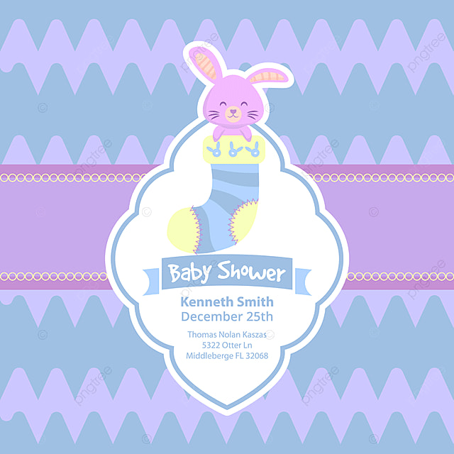 Cute baby shower card with rabbit invitation baby card png and cute baby shower card with rabbit invitation baby card png and vector stopboris Choice Image