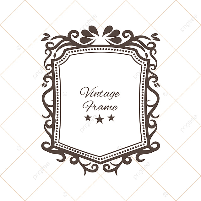 Decorative Vintage Frame, Background, Marco, Floral PNG y Vector ...