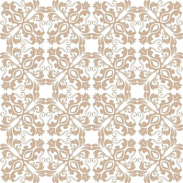 Floral Pattern Background Batik, Pattern, Background