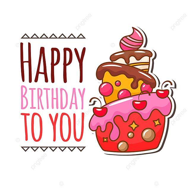 ケーキのイラストとバースデーカード ケーキ 誕生日 イラストの無料