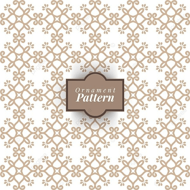 Damask Wallpaper A Seamless Vector Background Vintage And White Texture Floral Ornament