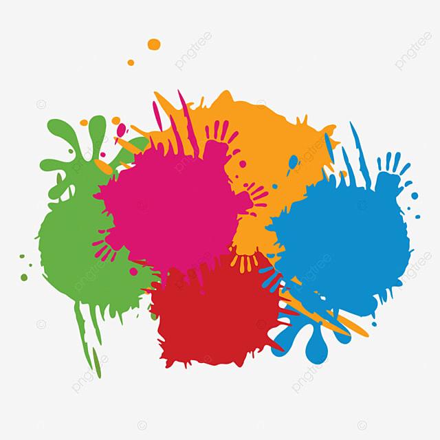 Color Paint Splash, Hand, Paint PNG Transparent Clipart ...