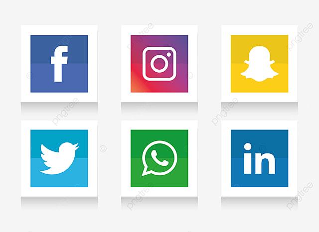logo vector facebook instagram vector and clip art