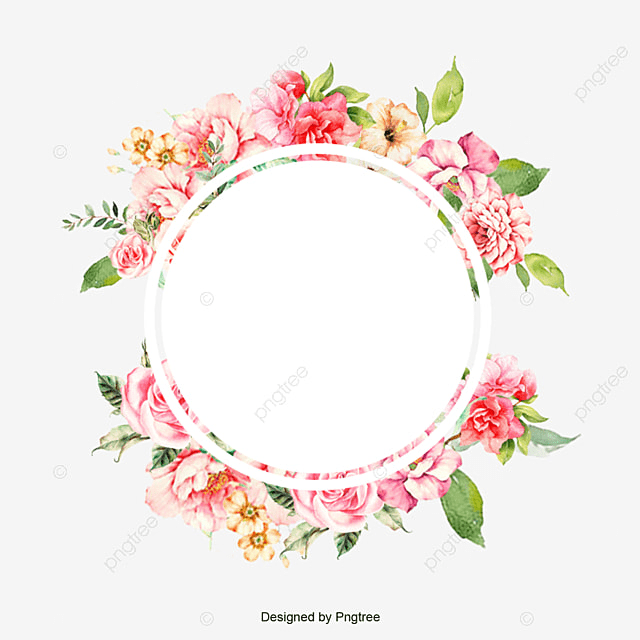 Frames Floral Em Png: Flower Frame, Flower, Frame, Corner PNG And PSD File For