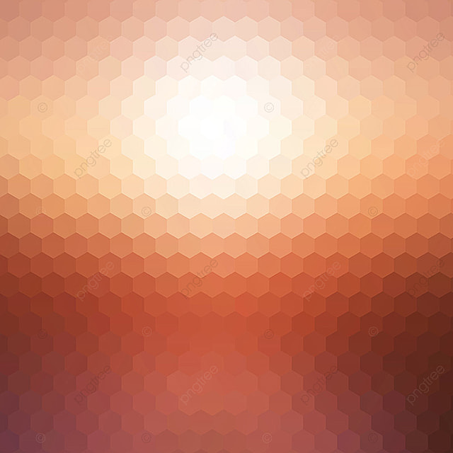 Abstract Sunset Hexagonal Mosaic Background 2202 Abstract