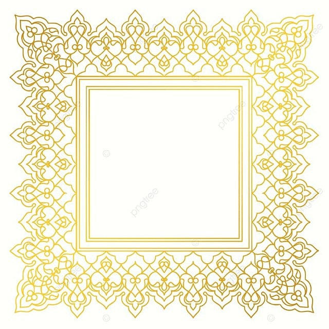 Islamic art golden border frame golden frame border frame png and islamic art golden border frame golden frame border frame png and vector toneelgroepblik Image collections