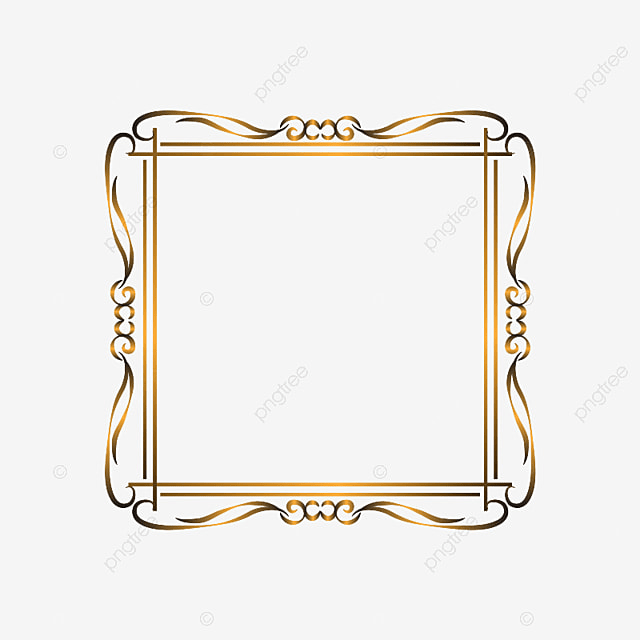 Luxury Ornament Frame, Luxury, Background PNG Transparent