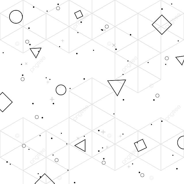 Patron Abstracto Con Formas Geométricas Limpias Geométricos ...