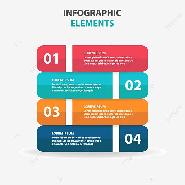 مجردة العلامة التجارية عناصر رسوم بيانية, Infographics, Infographic, Presentation PNG و فيكتور