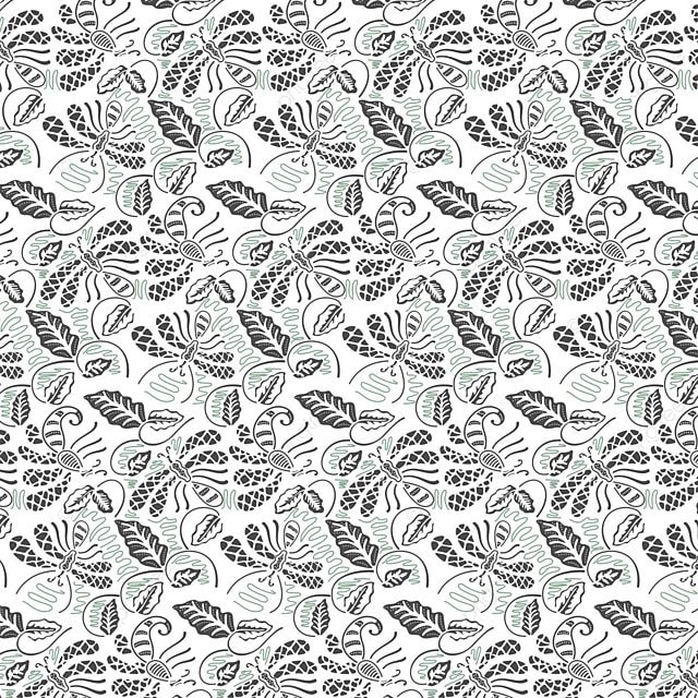 Indonesian Walang Batik Pattern Free Vector, Ornament