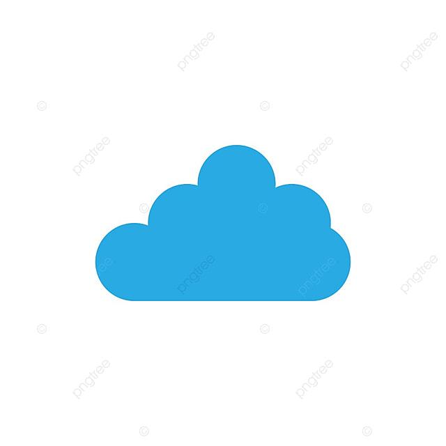 l ic u00f4ne nuage bleu logo vecteur ic u00f4ne r u00e9sum u00e9 art png et