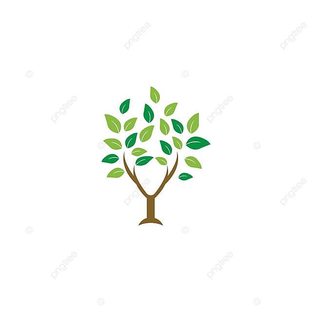Elegante Diseño De Logotipo Plantilla Vector La Hoja Del Arbol De La