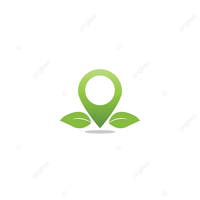 Mapa De Agricultura Del Diseño De La Insignia Pin Hoja Plantilla ...