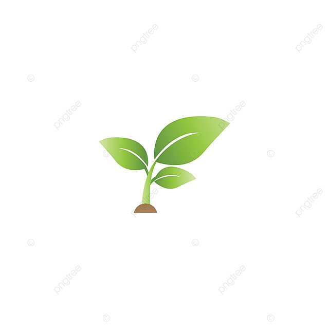 Elegan Sprout Pertanian Bentuk Logo Template Vektor Logo Pertanian