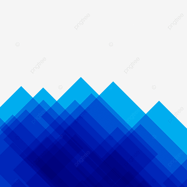 Blue Abstract Modern Geometric Background, Blue