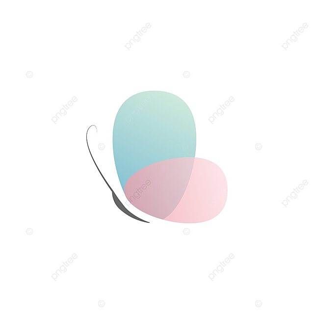 2c65d379d912 Abstract Butterfly With Transparent Color Vector