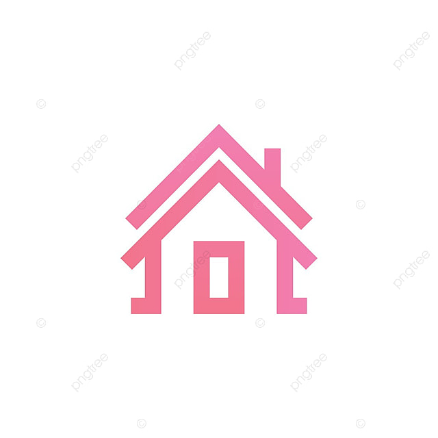 simple house outline logo template house building home png and vector