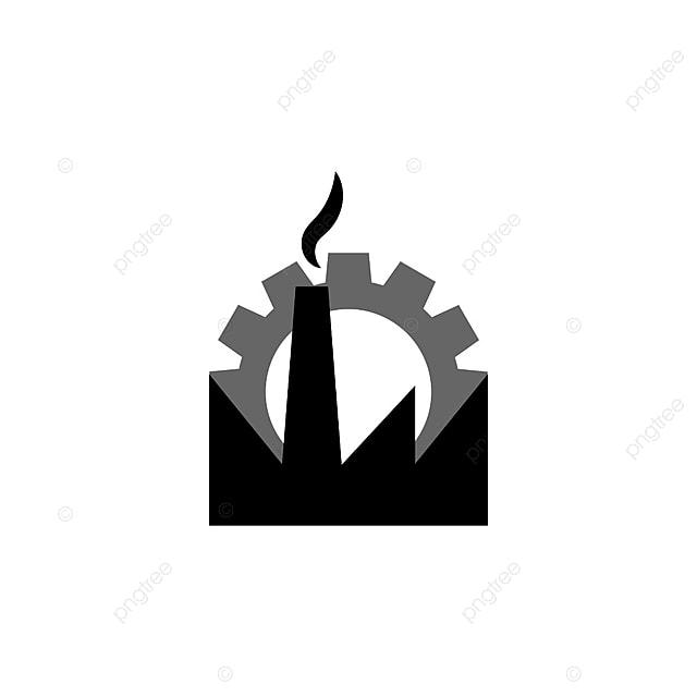 logo usine mod u00e8le industriel vecteur le logo industriels