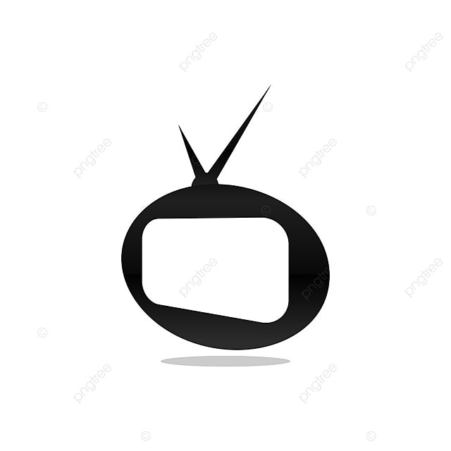 Classic Oval Tv Template Vector Channel Streaming Tv Png And