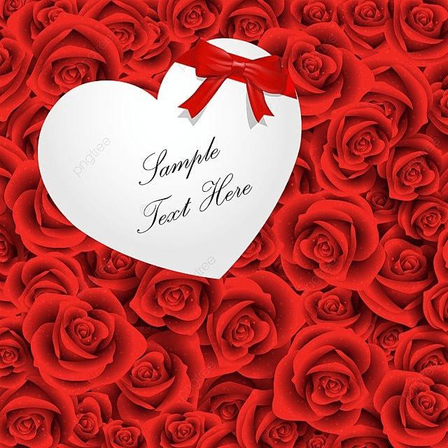 روز هدية القلب مع الخلفية قلب هدية وردة حمراء رومانسي روز خلفية