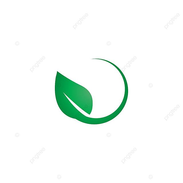 foto de Hoja Verde Logo Icon Plantilla De Diseño Vectorial Icono