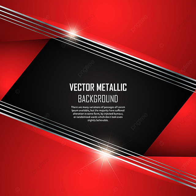 Modern Black And Red Metallic Background, Background