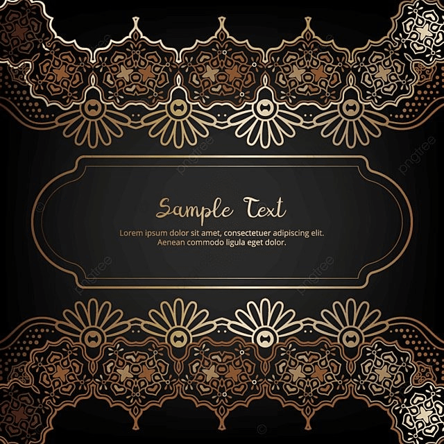 Elegant invitation card with floral decor in gold and black color elegant invitation card with floral decor in gold and black color golden ramadan copyright complaint download the free vector stopboris Choice Image