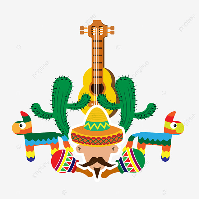 Comemorar O 5 De MAIO Festa Mexicana Mexicano Festa Festa PNG e ... bbbc592b332