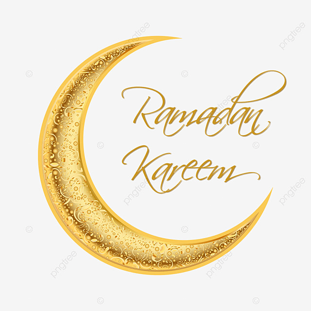 ramadan kareem moubarak lune d or illustration ramadan