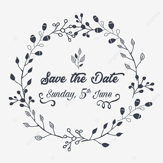 Flowers Vector Design Wedding Invitations Wedding: Wedding Invitation Save The Date Illustration, Wedding