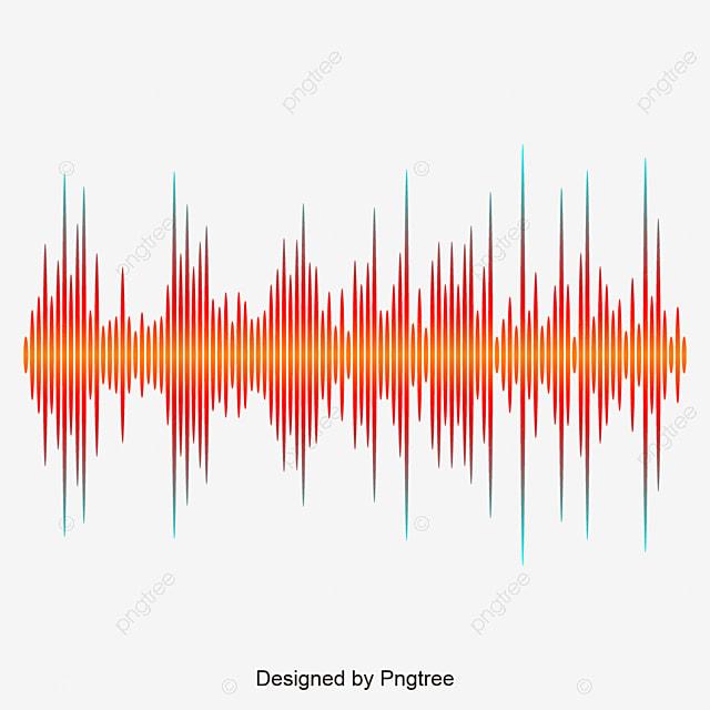 la vague orange de la musique de conception la conception