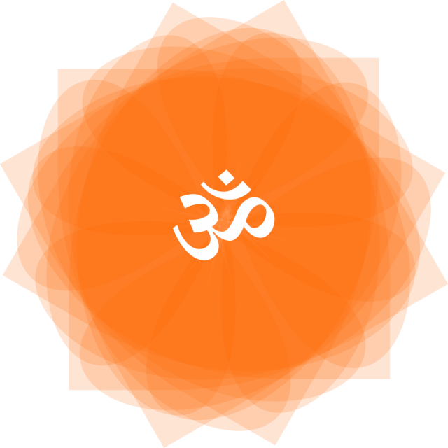 Indian Hinduism Om Symbol With Mandala Indian Hinduism Om Png And