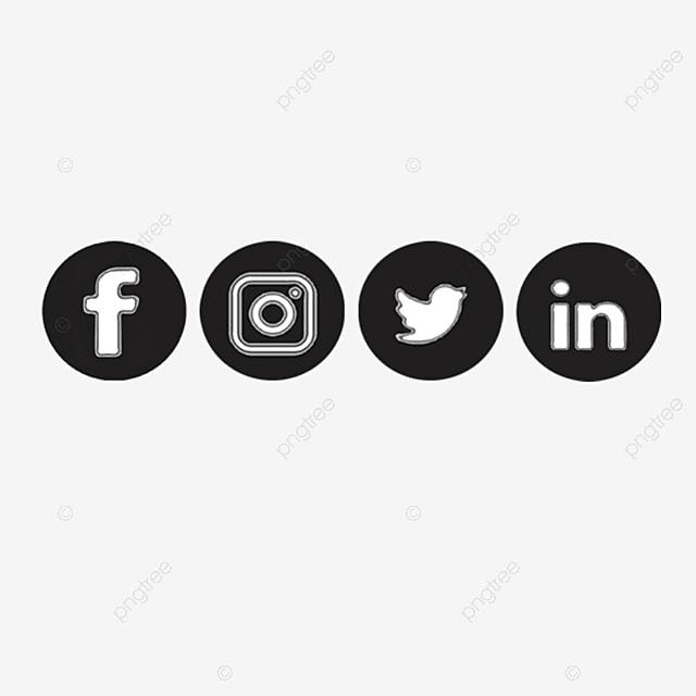 iconos de redes sociales dise u00f1os de tarjetas de visita