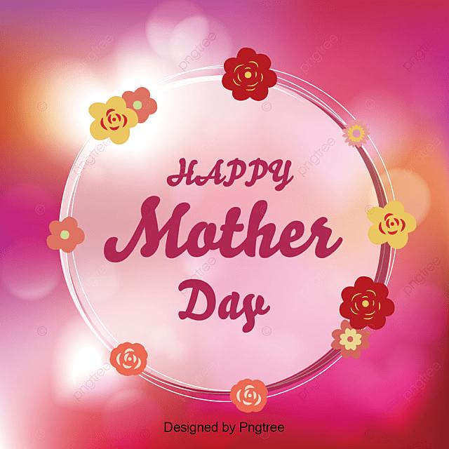 feliz día de la madre con fondo rojo feliz día de la madre mamá mamá