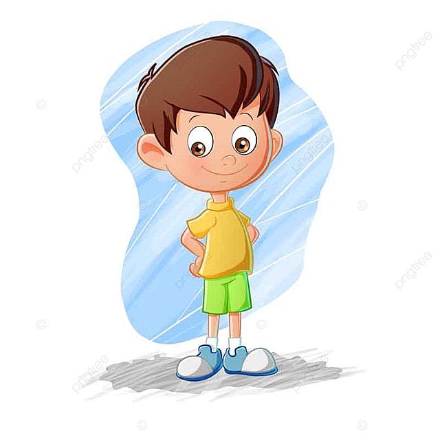 Мальчик мультик картинка
