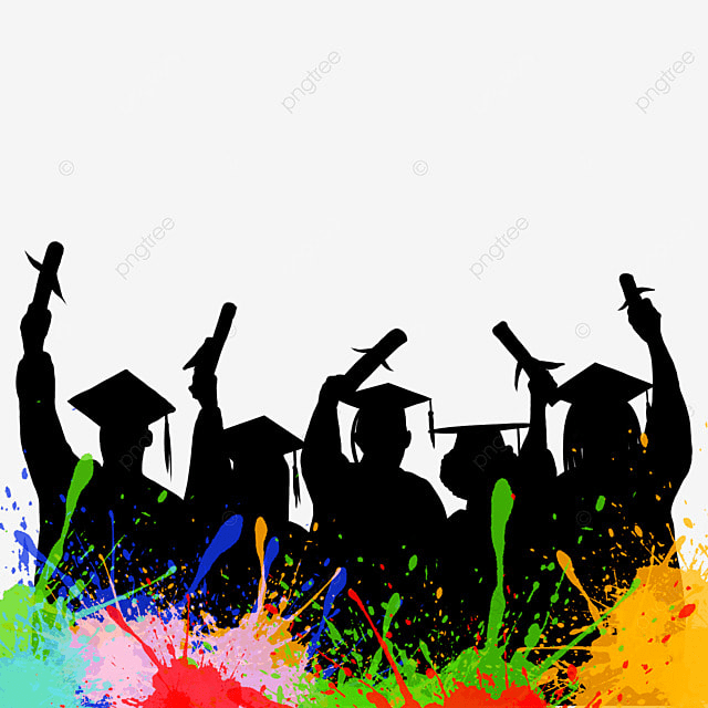 Graduation Character Sketch, Graduation Vector, Red Ribbon ...