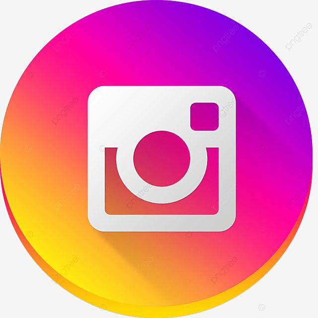 Resultado de imagen de boton instagram png