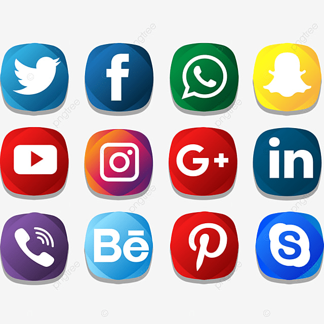 Social Icon Creative Color Pack, Social Media Icons ...