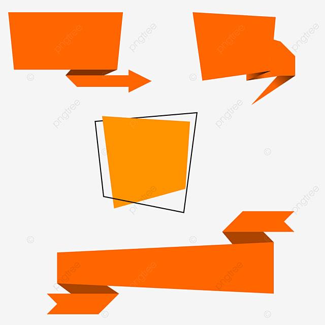Ribbon And Text Box, Graphic Elements, Ribbon, Text Box ...