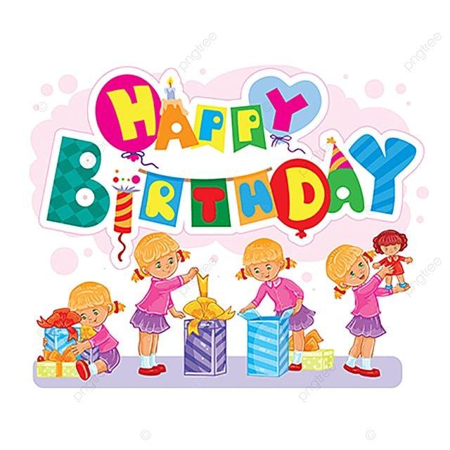 joyeux anniversaire mod u00e8le de carte de voeux les enfants