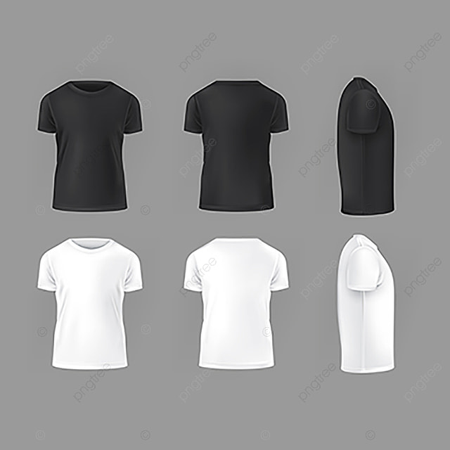 vector set template of male t shirts abstract an u00fancio