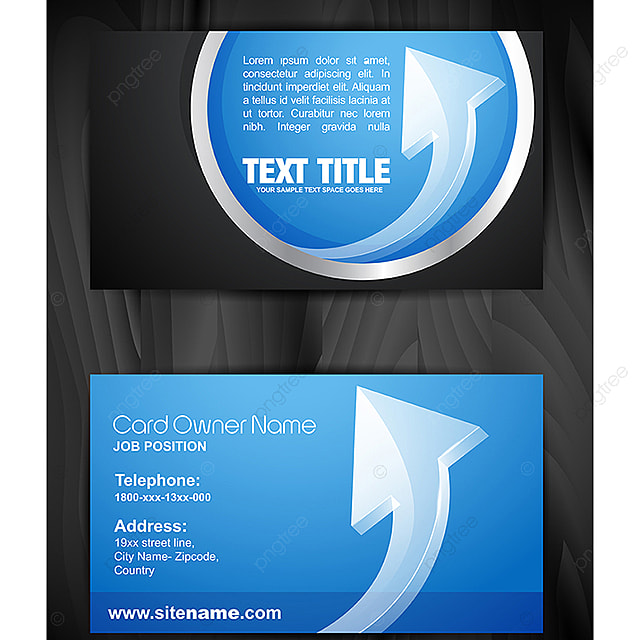 Creative Business Card Template Business Card Print Png